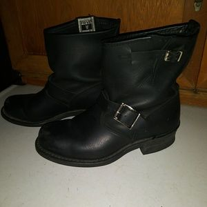 Frye Moto Boots 💖
